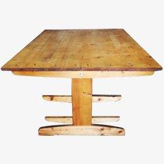 Werkstatttisch aus einer Textilfabrik