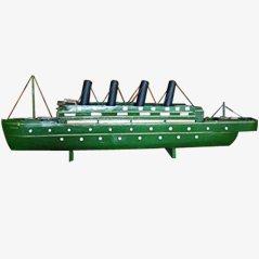 Vintage Ship Model, France, 1930s