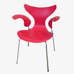 Lily 3208 Dining Chair by Arne Jacobsen for Fritz Hansen
