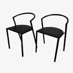 Expresso Chairs by Lars Mathiesen for Magnus Olesen, 1980s, Set of 2