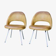 Sedie da conferenza di Eero Saarinen per Knoll, set di 2