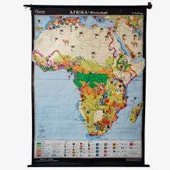 Mapa del cultivo de tierras de Africa
