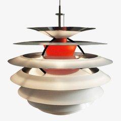 Vintage Hanging Lamp by Poul Henningsen for Louis Poulsen