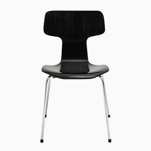 Chaise Empilable 3101 par Arne Jacobsen pour Fritz Hansen