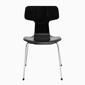 Sedie impilabili 3101 di Arne Jacobsen per Fritz Hansen