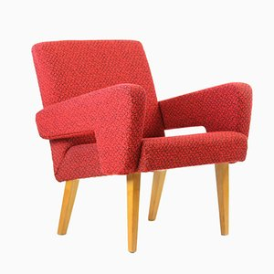 Red Armchair from Jitona, 1960s