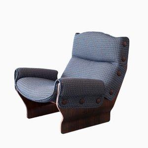 P110 Canada Chair in Blau von Osvaldo Borsani