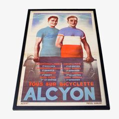 Vintage Cycling Poster from Alcyon