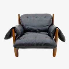 Mole Lounge Chair by Sergio Rodrigues, 1960s