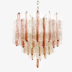 Two Tone Chandelier by Toni Zuccheri for Venini, 1960s