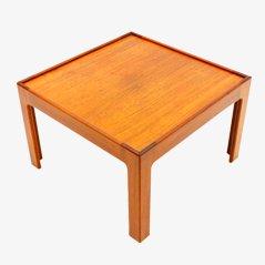 Tavolino in teak di Illum Wikkelso, anni '60