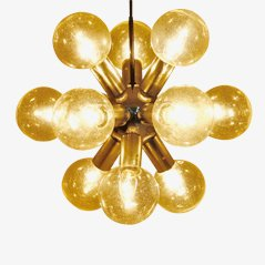 Atomic Chandelier by J.T. Kalmar, 1960s