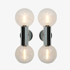 Wall Sconces by Motoko Ishii for Staff, Set of 2