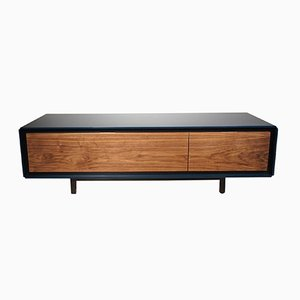 Aro 25.150 Sideboard from Piurra with Black Lacquer