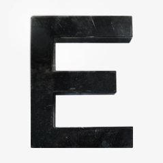 Vintage Buchstabe E