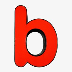 Lighting Letter B