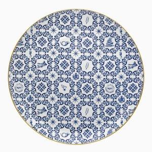 Transatlântica Large Plate by Brunno Jahara