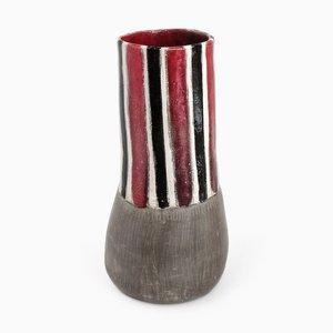 Pinstripe Vase par Henriëtte H. Jansen