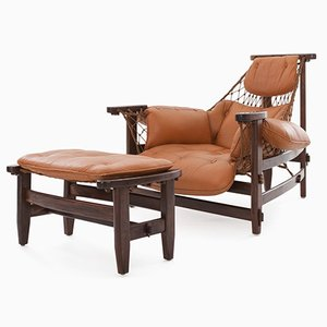 Jacaranda Lounge Chair and Ottoman by Jean Gillon