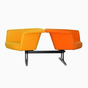 620 Modular Two-Seater Sofa by Geoffrey Harcourt for Artifort, 1970s