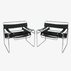Wassily Stuhl von Marcel Breuer, 1980er