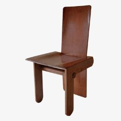 Italian Dining Chairs by Carlo Scarpa for Gavina, Set of 4