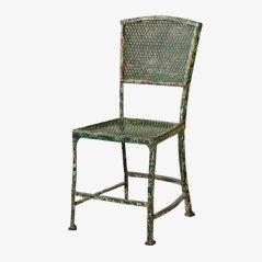 Schwerer Stuhl aus Eisen, 1890er