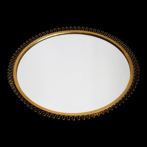Corona Mirror in Brass by Josef Frank