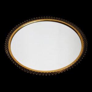 Specchio Corona in ottone di Josef Frank