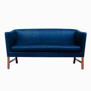 Dänisches Zwei-Sitzer Sofa von Ole Wanscher für A.J. Iversen, 1960er