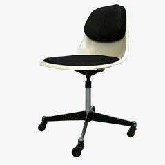 Sedia da ufficio PSCC-4 di Charles & Ray Eames per Herman Miller, anni '60