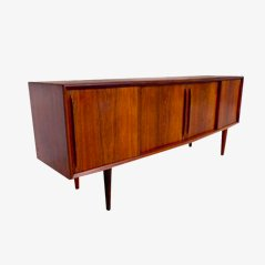 Vintage Danish Rosewood Sideboard by Arne Vodder for H.P. Hansen