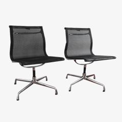 EA108 Chairs by Charles & Ray Eames for Vitra, Set of 2