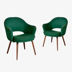 Conference Armchairs by Eero Saarinen for Knoll, Set of 2