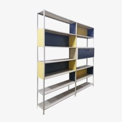 Industrial 2-Unit Bookcase by Friso Kramer for Asmeta