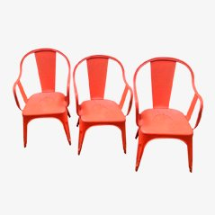 Industrial Chairs by Xavier Pauchard for Tolix, Set of 3