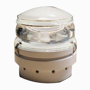 Applique Fresnel Oluce Joe Colombo 1960s Bianco