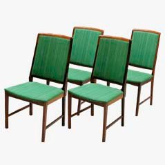 Mid Century Rosewood Dining Chairs from Skaraborg, 1950s, Set of 4