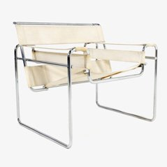 Vintage Wassily Chair by Marcel Breuer for Gavinna, 1963
