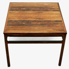 Mesa de centro de palisandro, años 50