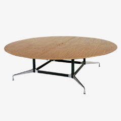 Rounded Conference Table by Charles Eames for Vitra