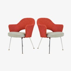 Executive Chairs by Eero Saarinen for Knoll, Set of 2