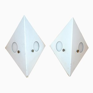 C-1651 Owl Wall Lamps from Raak Amsterdam, 1960s, Set of 2