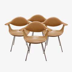 DAF Chairs by George Nelson for Herman Miller, 1957, Set of 4