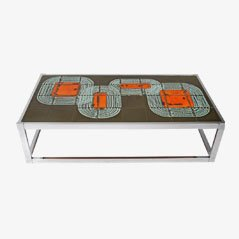 Vintage Tile Coffee Table, 1960