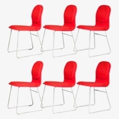 Hi-Pad Stühle von Jasper Morrison für Cappelini, 6er Set