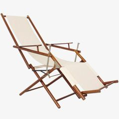 Art Nouveau Deck Chair around 1900