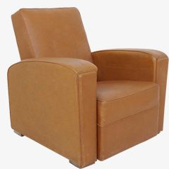 Art Deco Club Lounge Chair