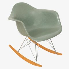Seafoam RAR Armchair by Charles & Ray Eames for Herman Miller