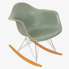 Seafoam RAR Armchair von Charles & Ray Eames für Herman Miller